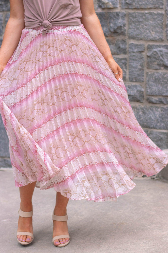 When Magic Strikes Midi Skirt