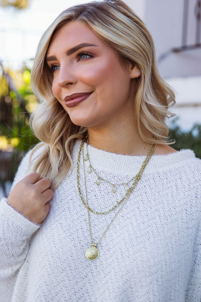 Stand A Chance Layered Necklace