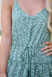 Pretty Sage Green Dress- Women's Spring And Summer Dresses- Cute Floral Dress- $40
