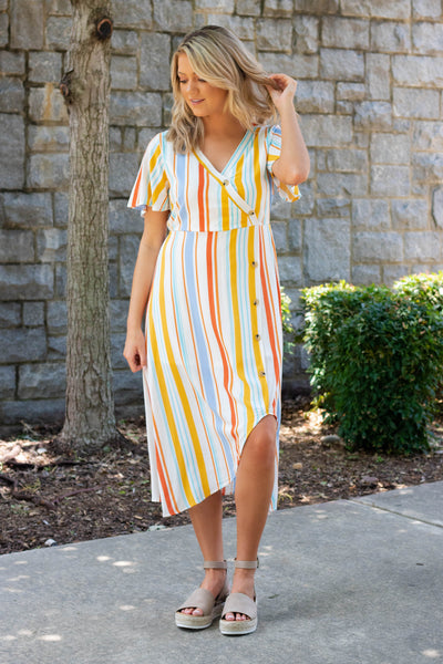All Eyes On Me Midi Dress