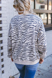Into the Unknown Zebra Pullover