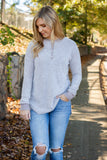 Women's Super Soft Long Sleeve Top- Brushed Fabric Long Sleeve Top- $34