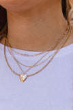 Heavy On My Heart Layered Necklace