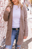 Cute Popcorn Cardigan- Mocha Brown Popcorn Cardigan- $44