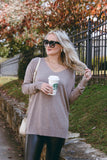Dare You To Move Sweater-Heather Grey