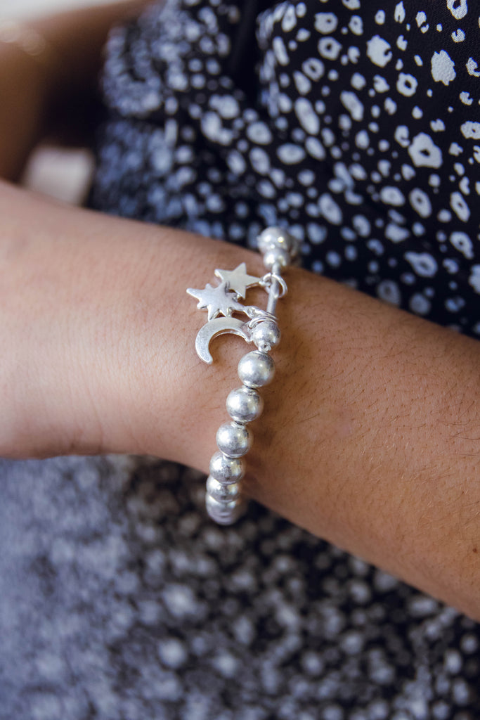 Look To The Sky Bracelet-Silver