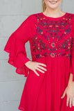 Cute Embroidered Tunic- Women's Cute And Affordable Online Boutique- $38