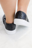 Reba Quilted Slip On Sneakers