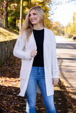 Making Decisions Cardigan-Ivory