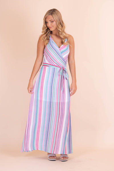 Keep Asking Maxi Dress