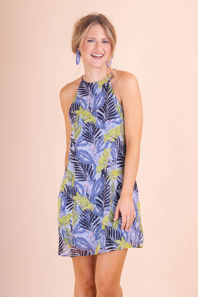Chic Dress- Tropical Summer Dress- $34- Affordable Online Women's Boutique