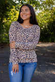 Super Soft Leopard Print Pullover- Women's Long Sleeve Leopard Print Top- $35- Cute Fall Outfits