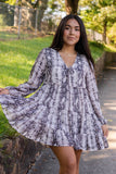 Women's Snakeskin Tunic- Women's Snakeskin Babydoll Dress- $46