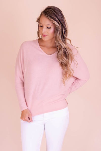 Snuggle Up To Me Top-Pink