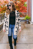 It Takes Two Cardigan-Taupe