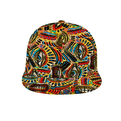 Abstract II Adjustable Classic Snap back