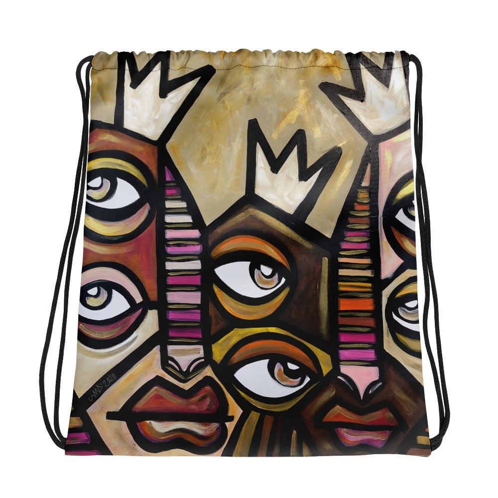 Shine Drawstring bag