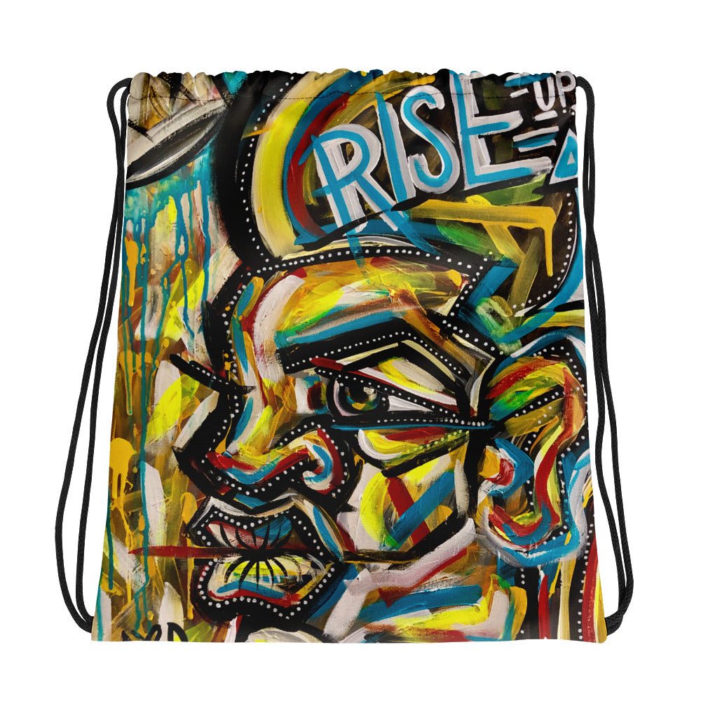 Rise Up Drawstring Bag