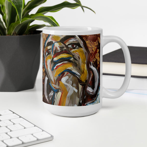 Walking in Favor Mug