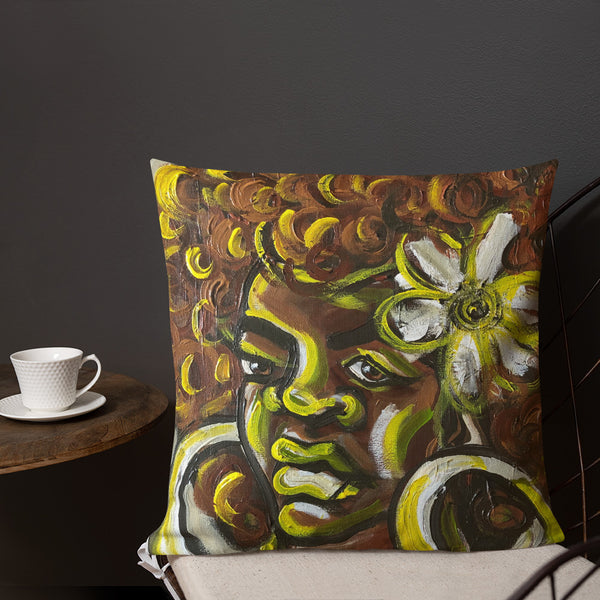 Miss Sunshine Premium Pillow