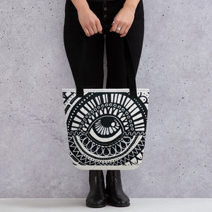 Eye Am Learning Tote bag
