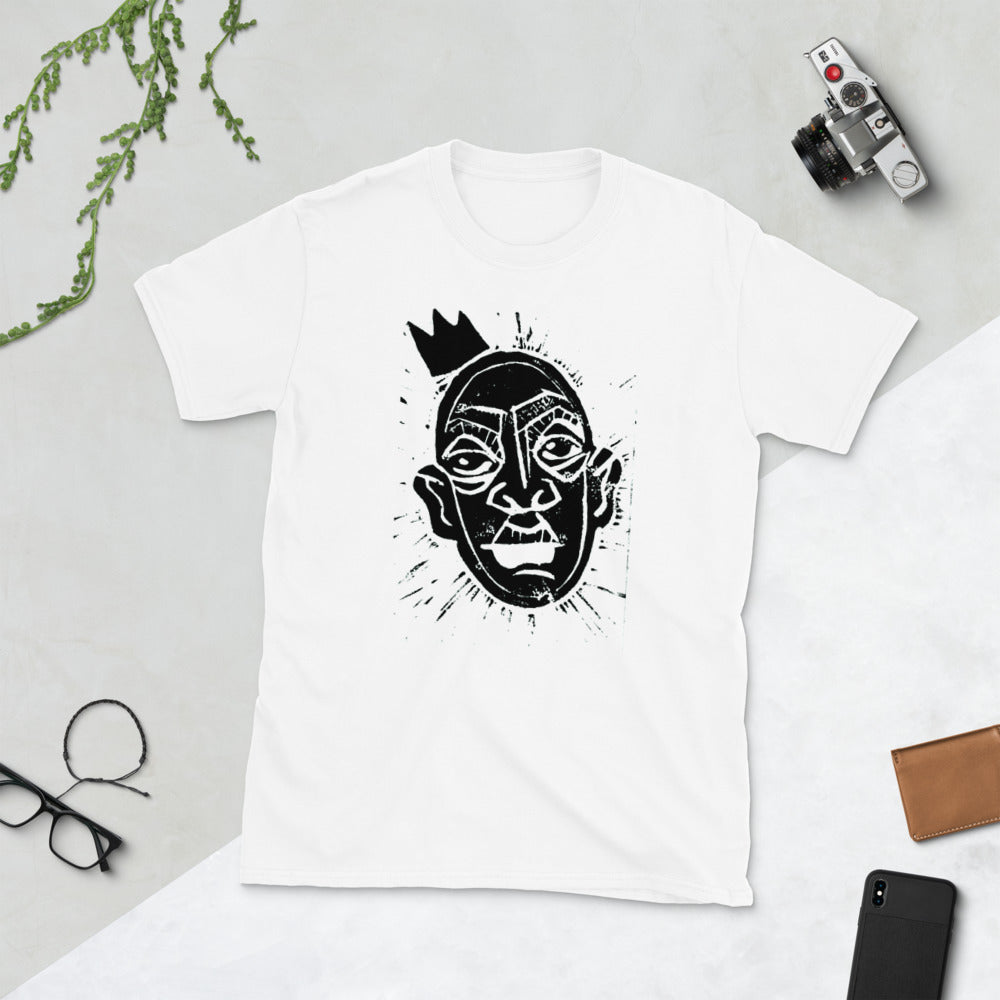 King Print Short-Sleeve Unisex T-Shirt