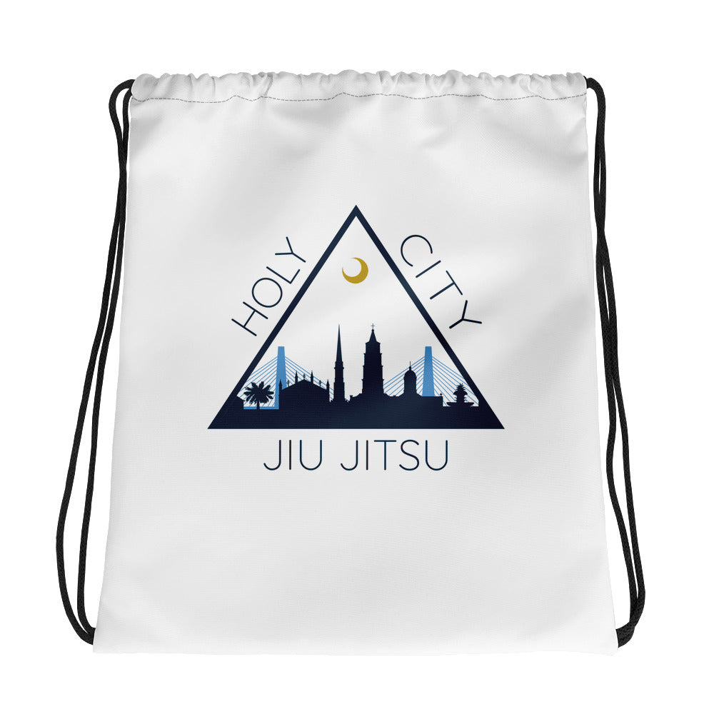 Drawstring bag - White