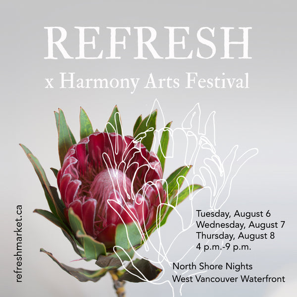 REFRESH MARKET X HARMONY ARTS