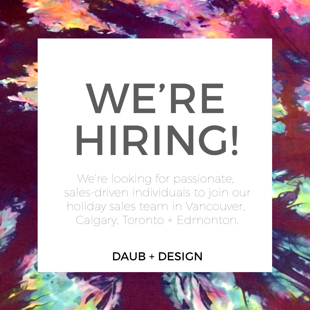 WE'RE HIRING- Sales Staff for Holiday!