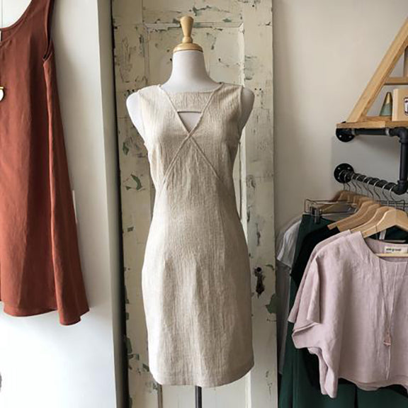 A locally designed and made dress from Coal Miner's Daughter in Toronto