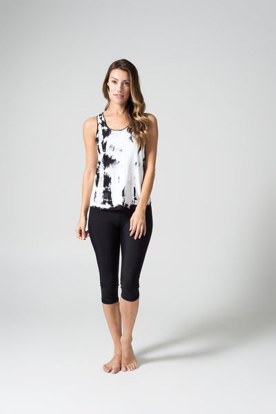 Daub + Design Tahnee Tank in White and Black