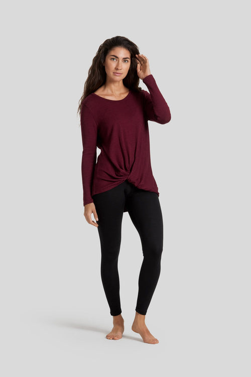 Juliet Longsleeve in Burgundy