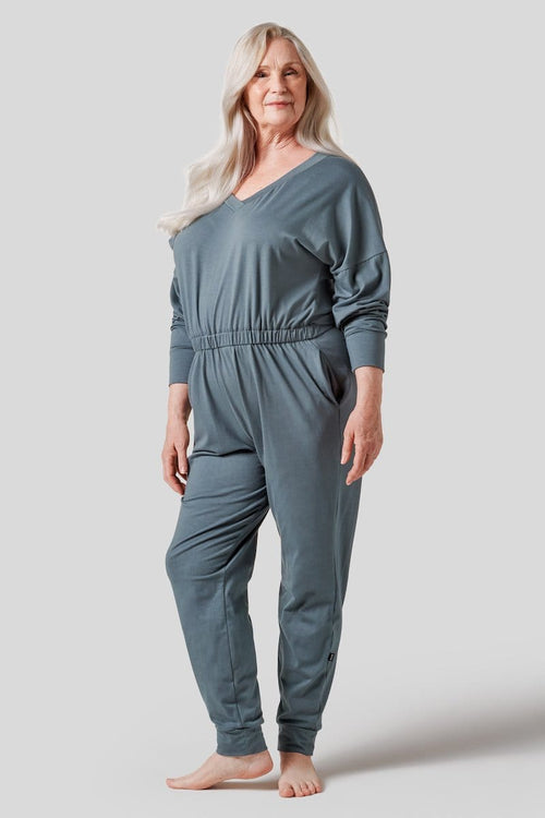 Nova Romper in Steel