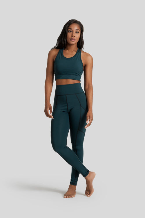 Pocket Legging in Dark Forest