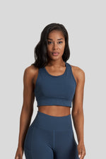 Savannah Crop in Steel Blue