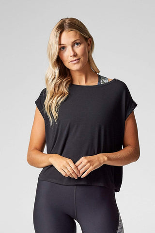 Mika Crop in Black