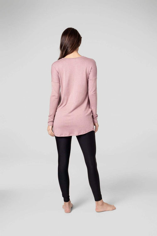 Marie Tunic in Rose