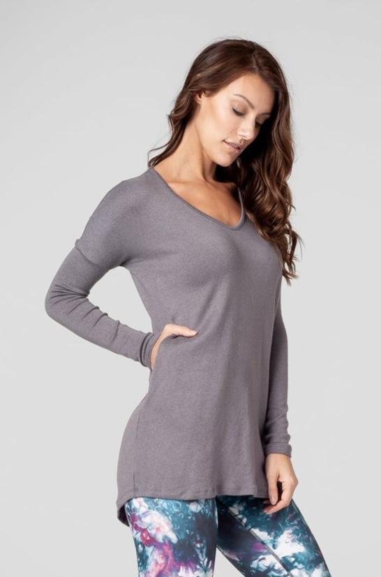 Marie Tunic in Steel