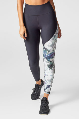 Adriana Leggings in Brick + Black