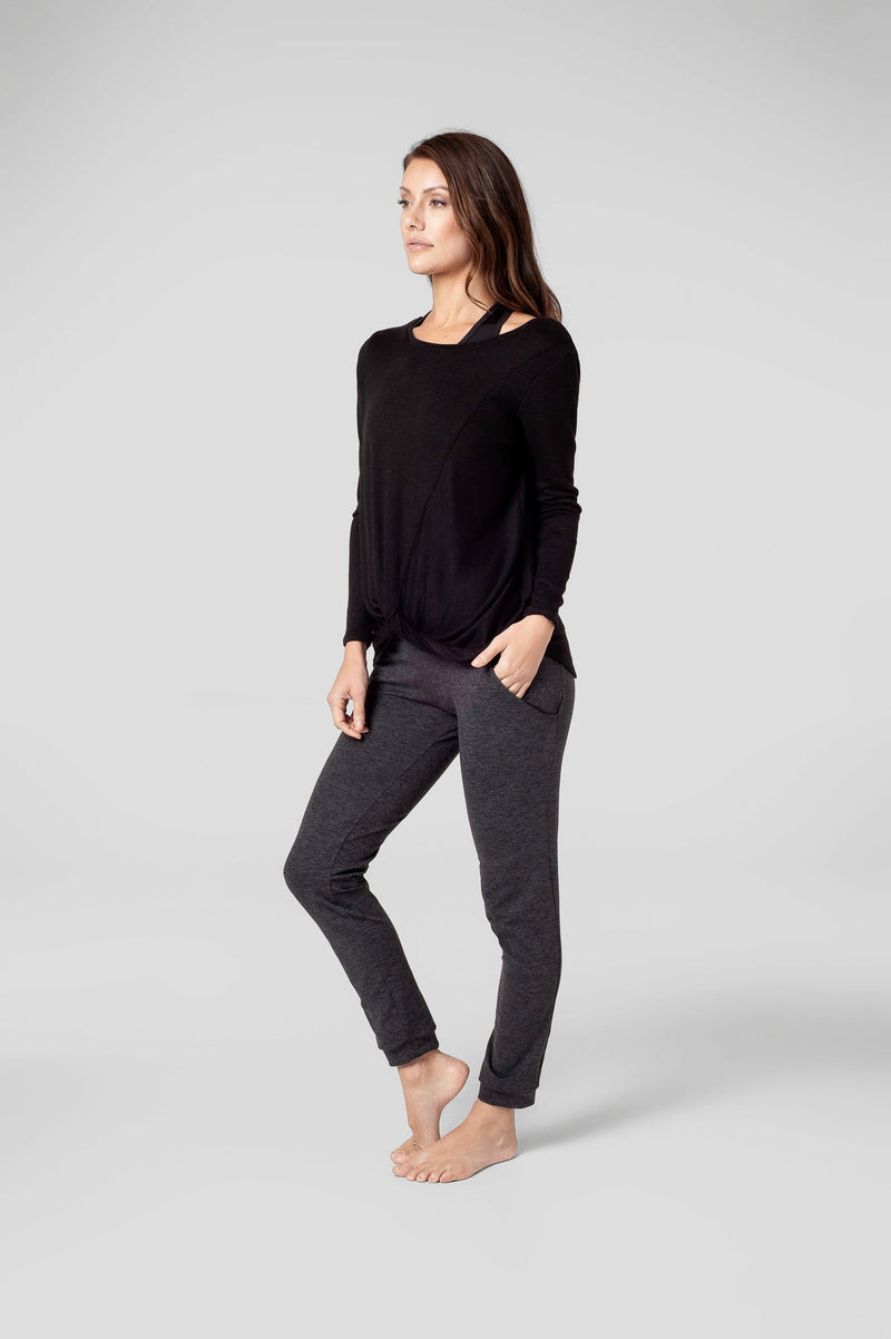Juliet Longsleeve in Black