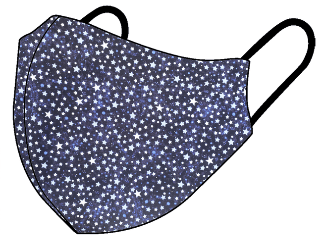 Starry Night - Non Medical Face Mask