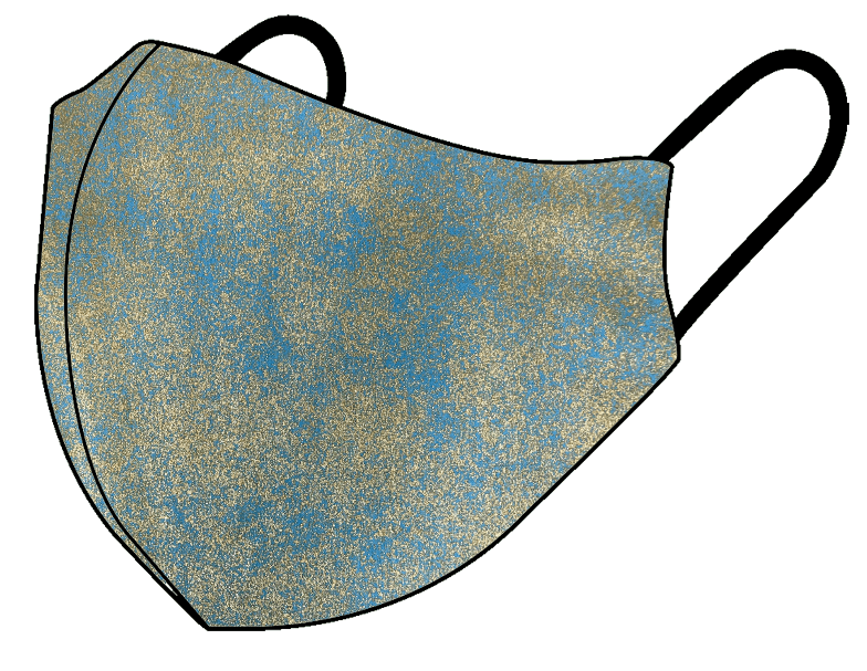 Teal Gold - Non Medical Face Mask