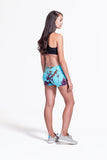 Liberty Shorts in Blue Multi - Daub + Design