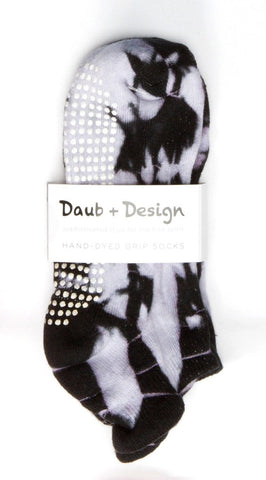 Grippy Sock in Ebony - Daub + Design