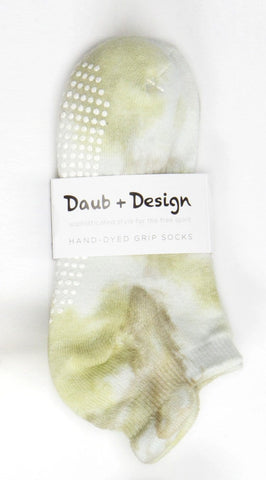 Grippy Sock in Grass - Daub + Design