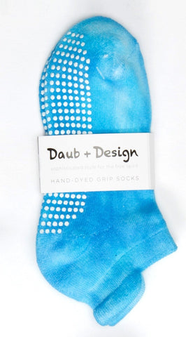 Grippy Sock in Ocean - Daub + Design