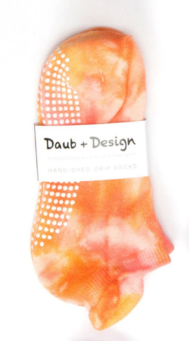 Grippy Sock in Sunrise - Daub + Design