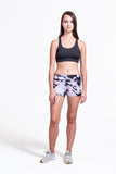 Liberty Shorts in Lavender + Black - Daub + Design