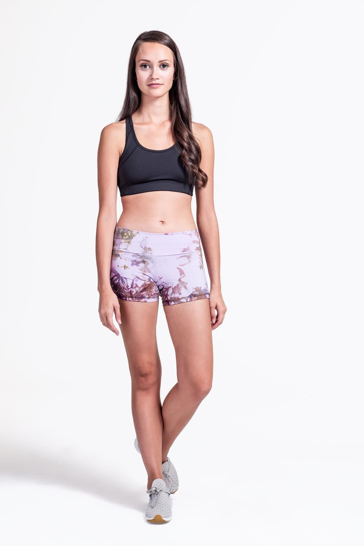 Liberty Shorts in Lavender Multi - Daub + Design