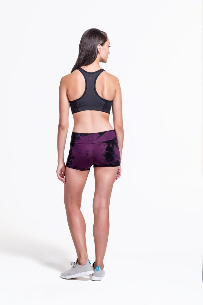 Liberty Shorts in Plum + Black - Daub + Design